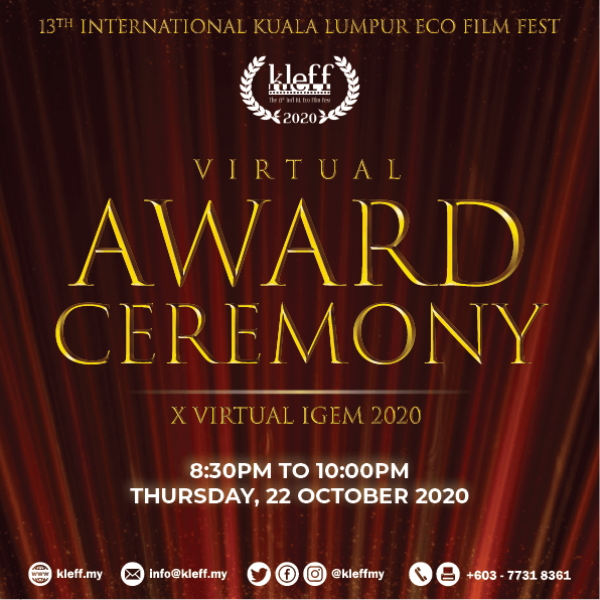 KLEFF 2020 Virtual Award Ceremony Poster
